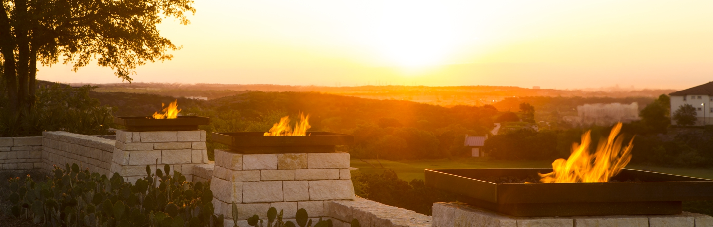 La Cantera Resort_Front Fire Pits