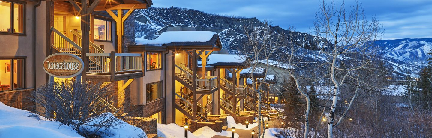 Terracehouse condominiums in Snowmass Village
