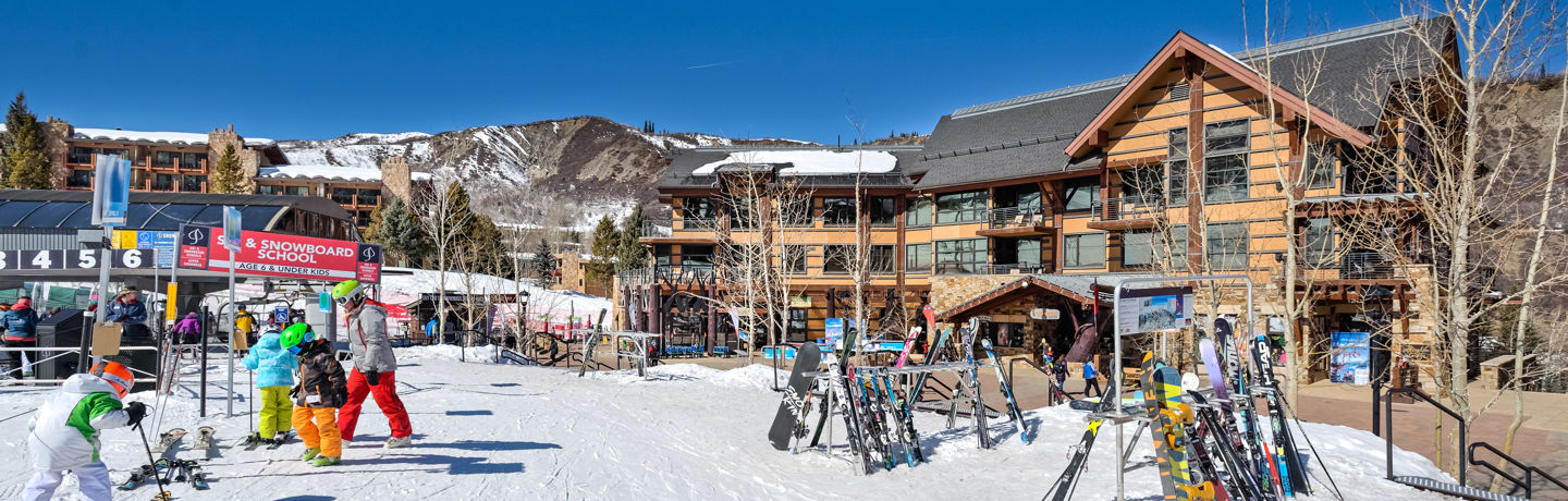 Base Village in Snowmass, Colorado