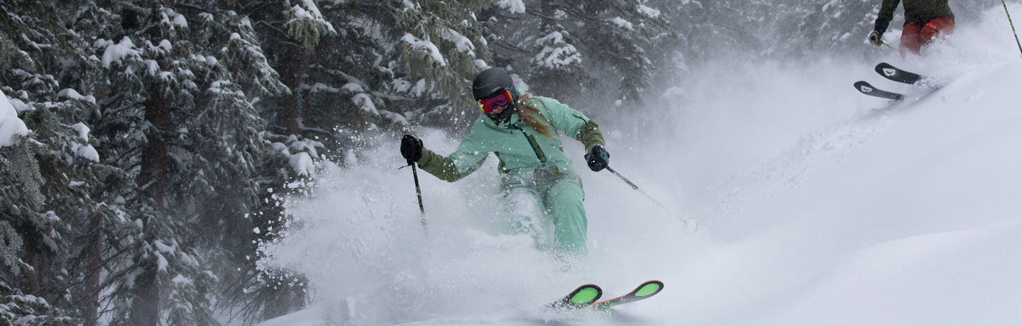 Powder day in Aspen Snowmass. Credit Jesse Hoffman.