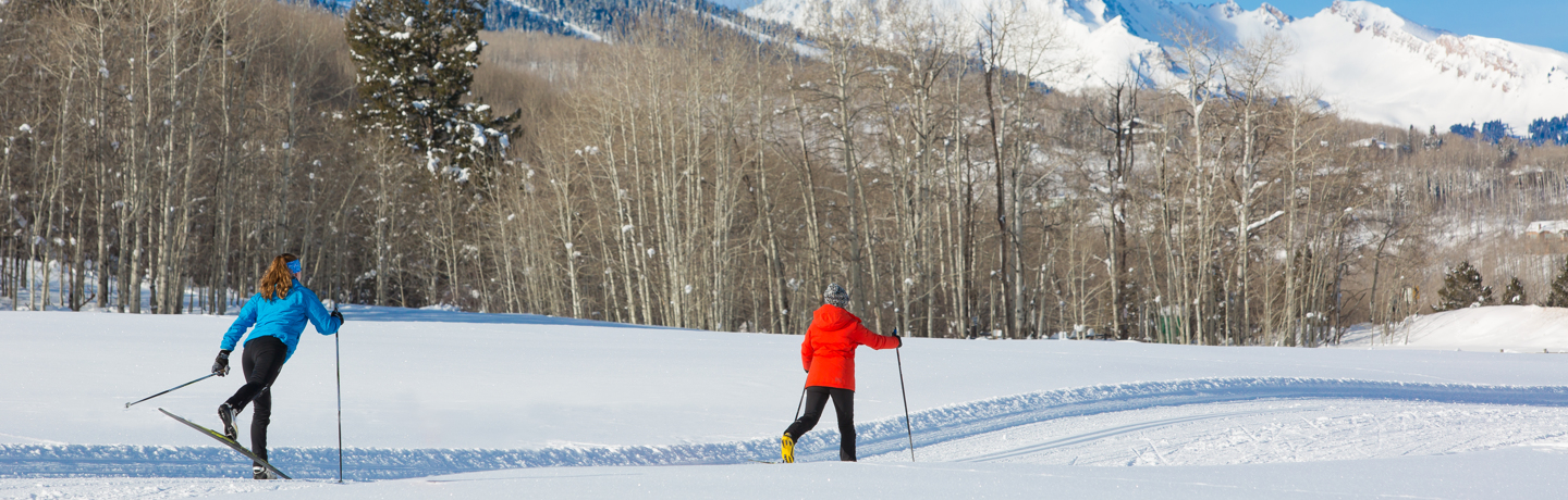 Cross Country Skiing in Snowmass, Colorado