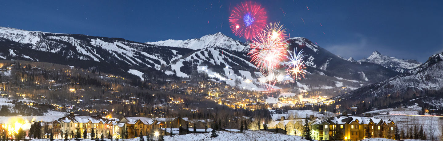 New Year's Eve celebration in Snowmass