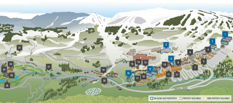 Snowmass Property Map