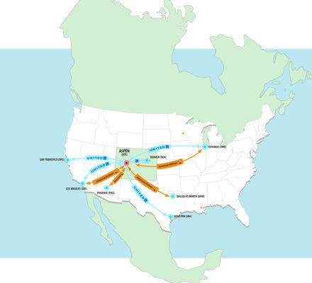 ASE flight map winter 2020 2021