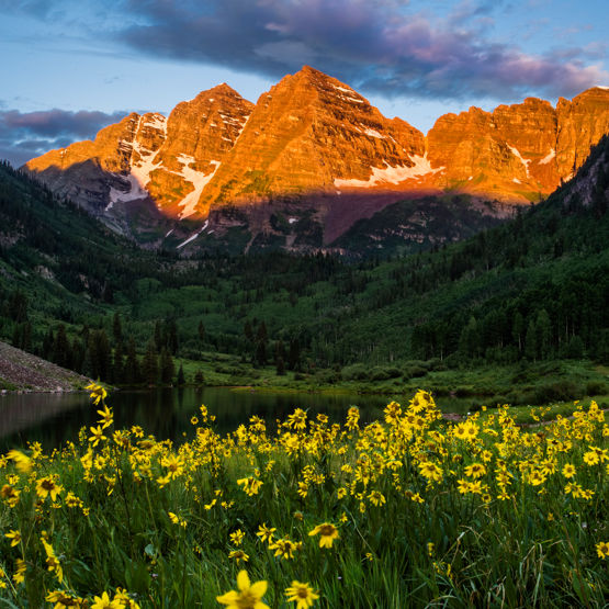 The Maroon Bells Wilderness