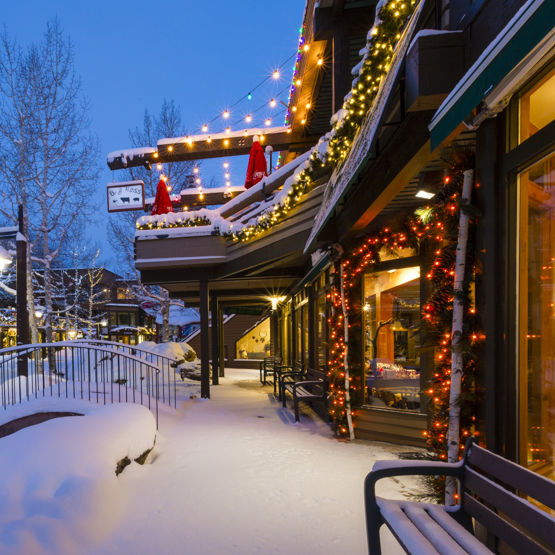 Spend the holidays in Snowmass