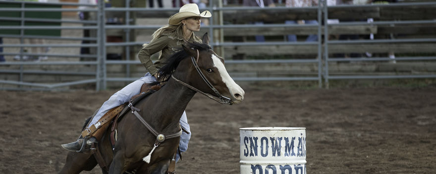 The Snowmass Rodeo, every Wednesday in Snowmass Village, Colorado
