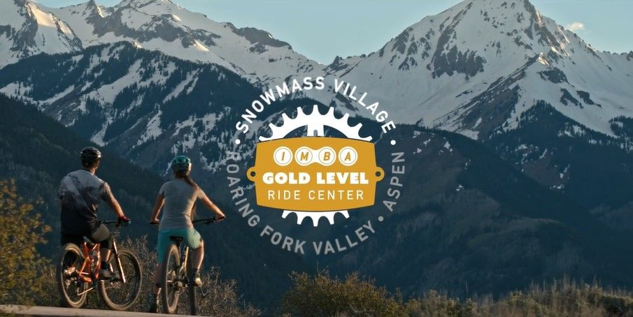 Aspen Snowmass is Colorado's first IMBA Gold Level Ride Center