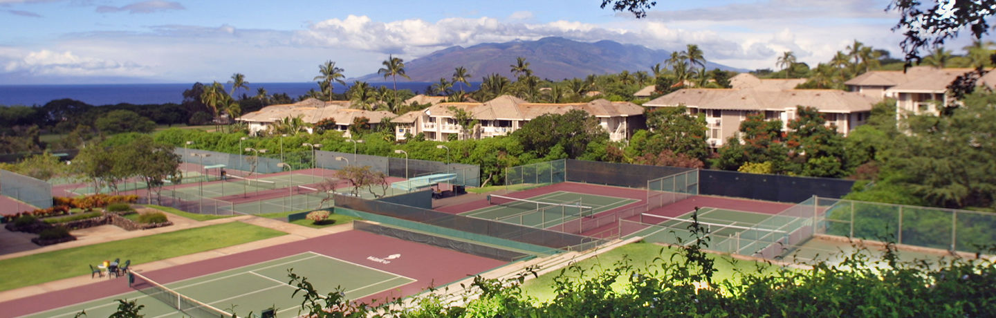 Wailea Tennis Club Courts