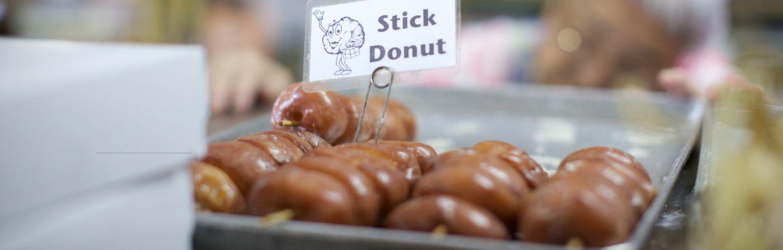 Stick Donuts from Komodo Bakery