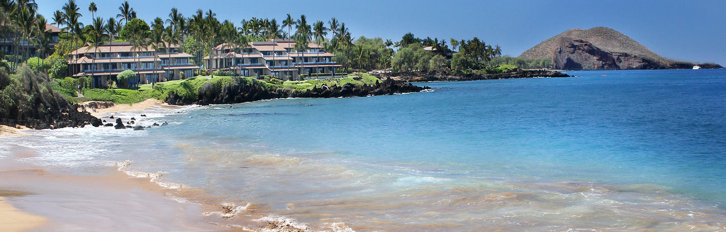 Makena Surf Resort Exterior with Beach View