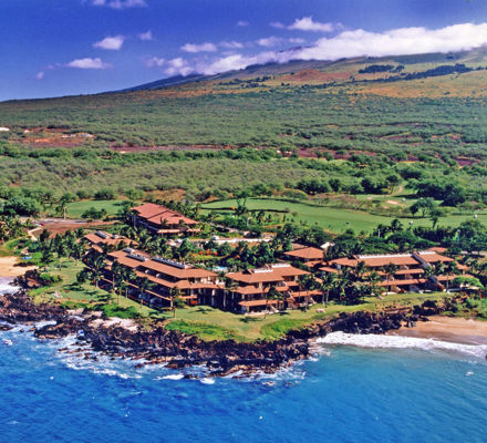 Makena Surf Resort Exterior Aerial View