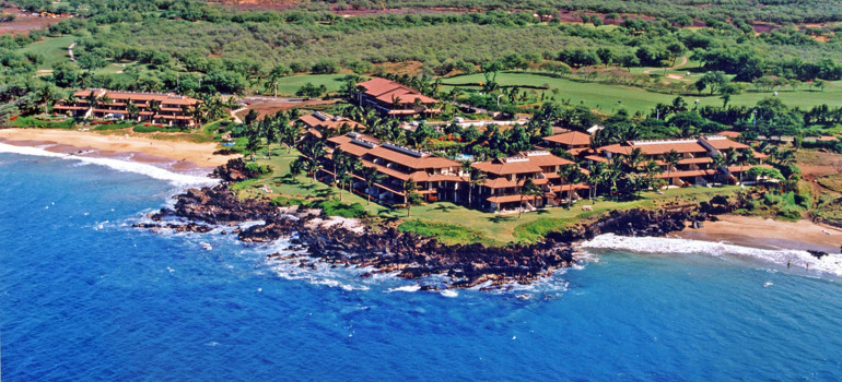 Makena Surf Aerial View