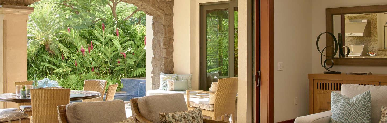 Wailea Beach Villas Garden View Villa, Living Room