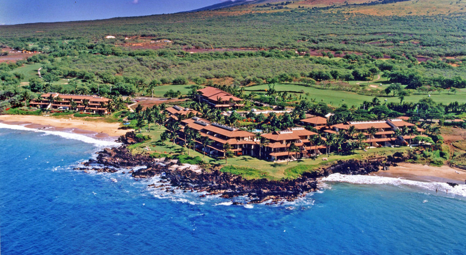 Makena Surf Resort Aerial View