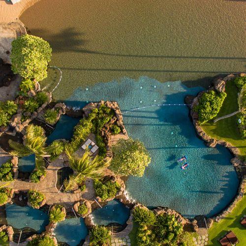 South Shore Kauai Poipu pools