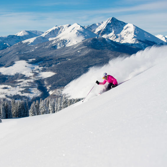 Epic Early Season Skiing in Vail
