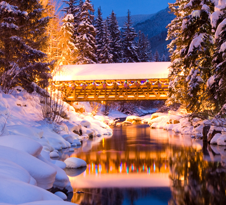 <b>Covered Bridge In Vail, CO.</b>