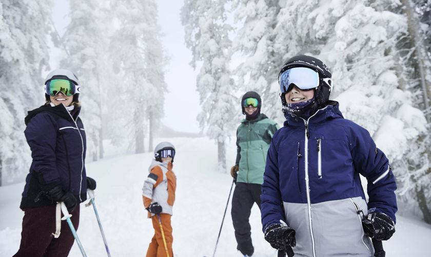 Skiing in Vail, Colorado