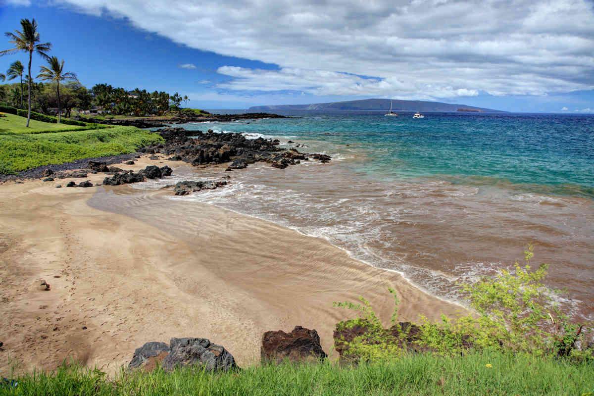 Views of the beach at Makena Surf