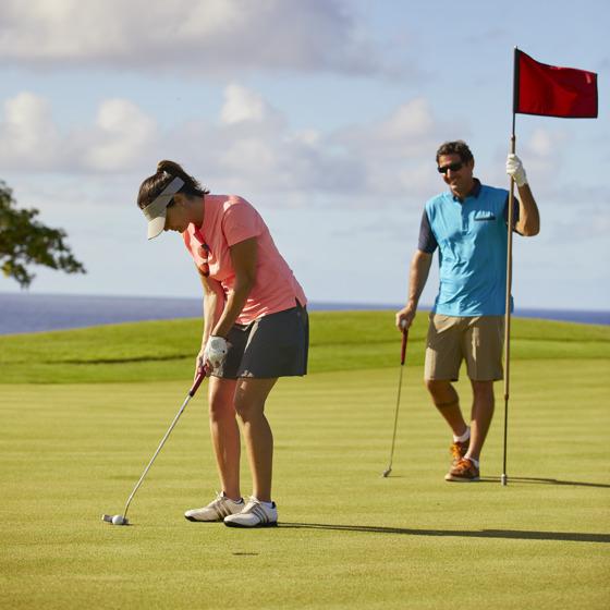 Oceanview golf course
