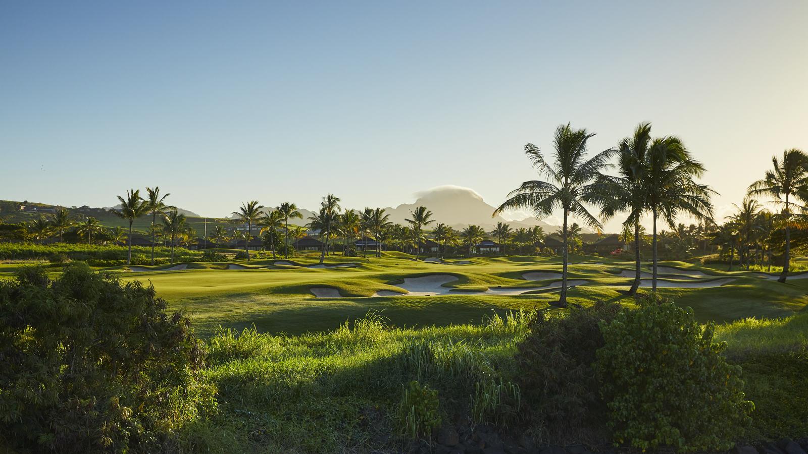 Kauai golf course view