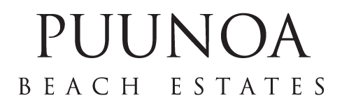 Puunoa Beach Estates Logo