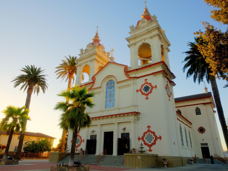 Historic Church in San Jose