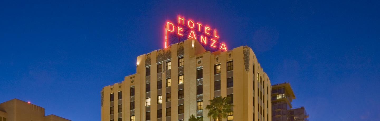 Hotel De Anza Exterior Evening
