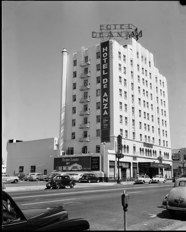 Hotel De Anza in 1931