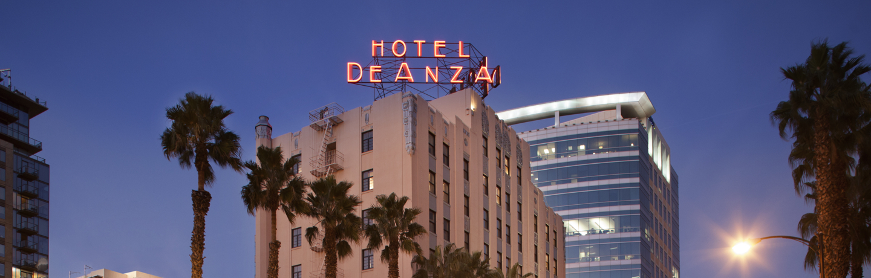 Hotel De Anza_Exterior_Evening