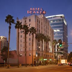 Hotel De Anza Exterior, Downtown San Jose