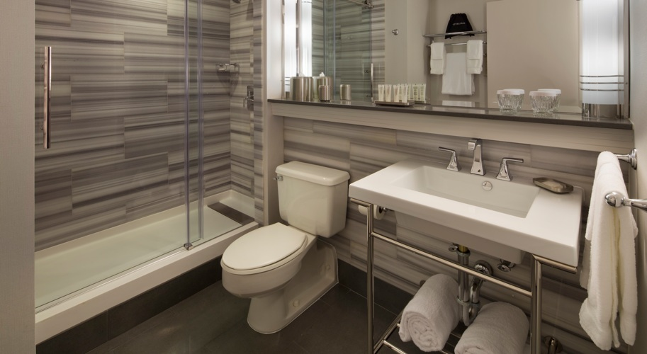 Hotel De Anza_Guest Room_Bathroom