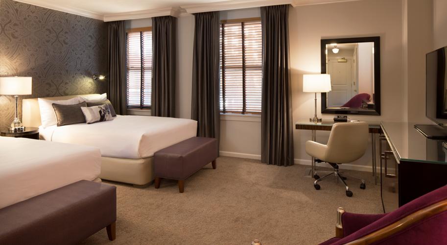 Hotel De Anza_Guest Room_Double Queen