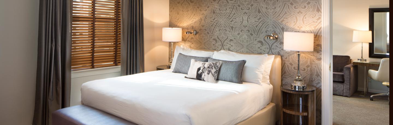Hotel De Anza_Guest Room_Parlor Suite Bedroom