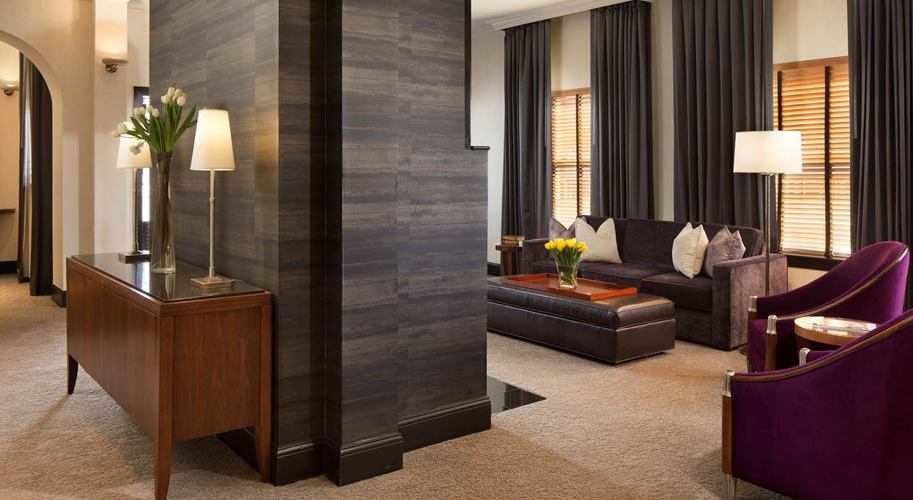 Hotel De Anza_Guest Room_Penthouse Suite Living Room 2
