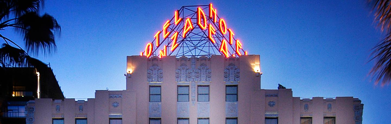 Hotel De Anza Exterior Head On