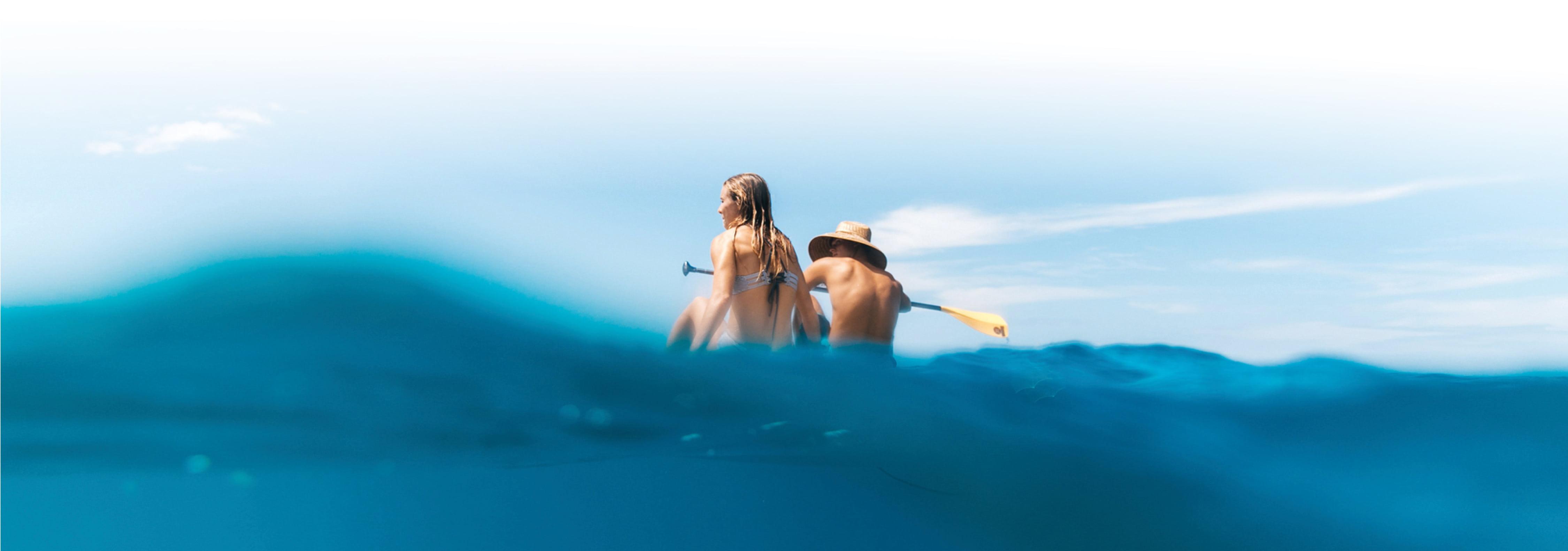 paddleboarding image