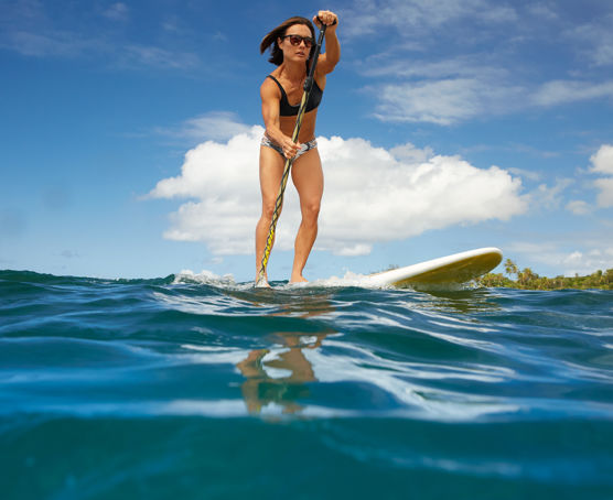 kauai paddleboarding