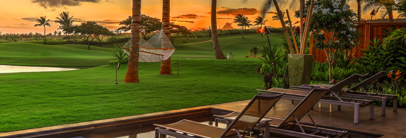 Sunset Views from Club Villa
