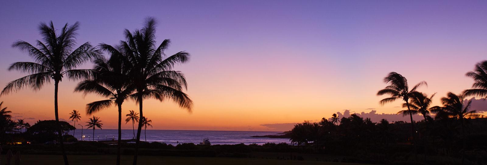 Kauai club community sunset