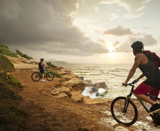 Kauai resort mountain biking