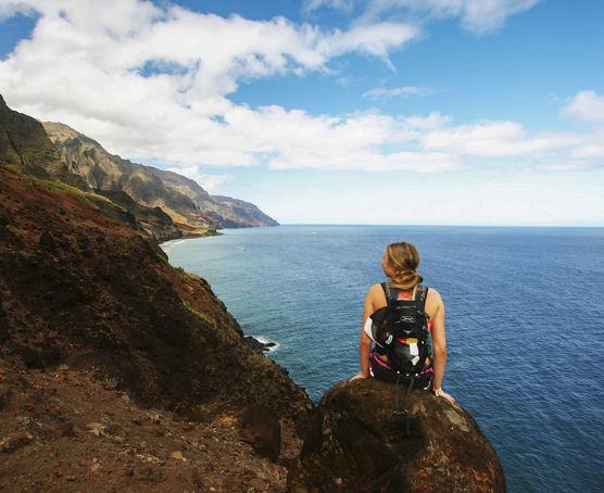 Kauai resort hiking