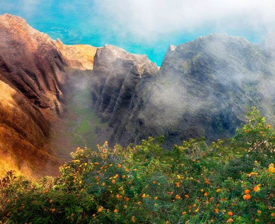 Breathtaking views of Kauai