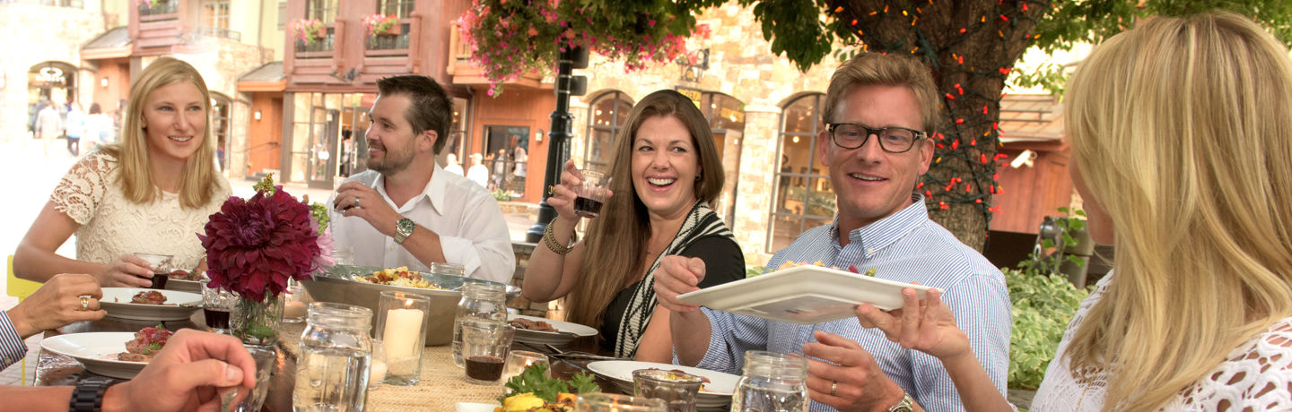 Summer's Farm to Table event in Vail, CO.