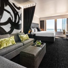 Motif Seattle | Third Night Free | Water View Room | Downtown Seattle | Hyatt Hotels