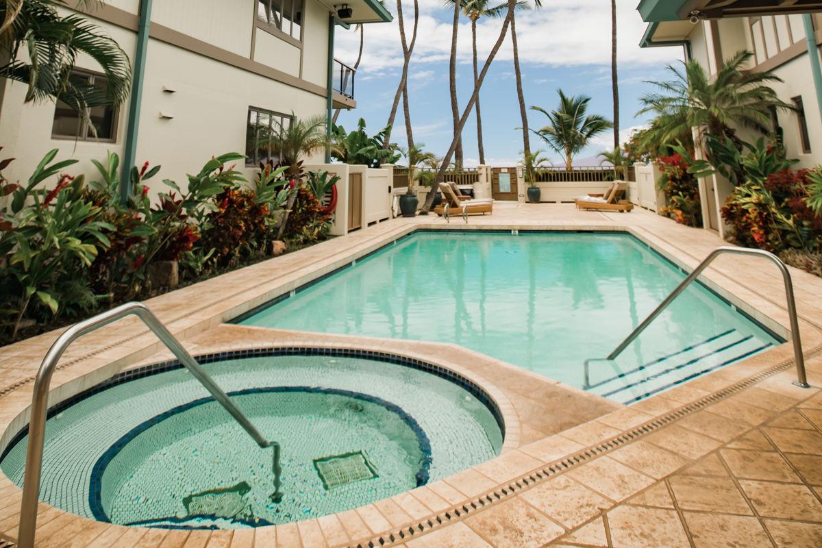 Lahaina oceanfront villas