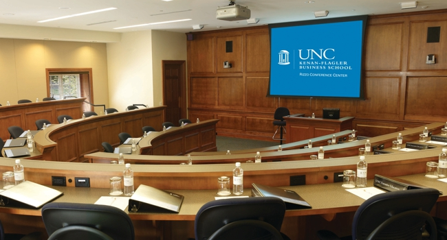 Classroom at Chapel Hill