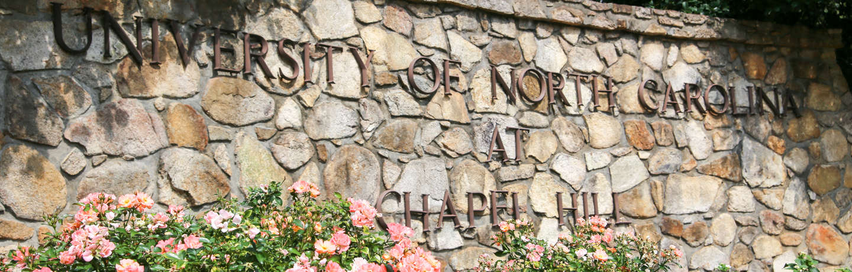 UNC Campus Sign