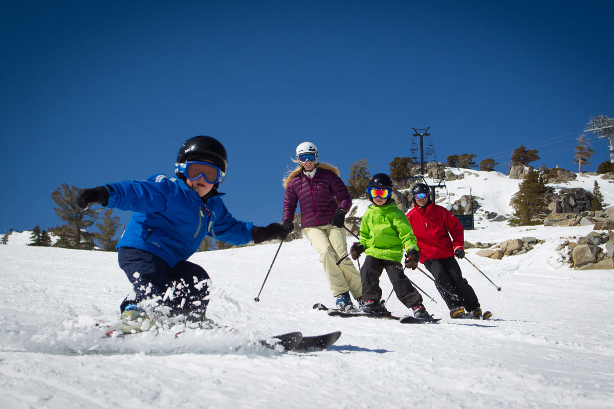 Resort at Squaw Creek_Recreation_Family Skiing